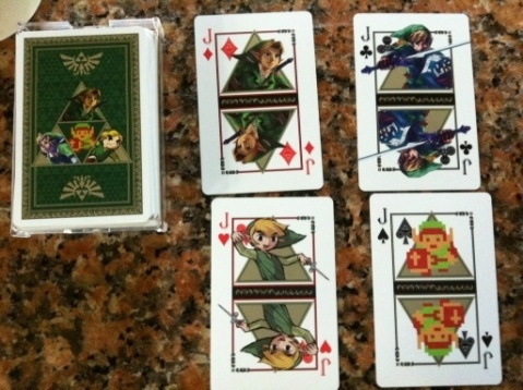 Cartas Poker Zelda