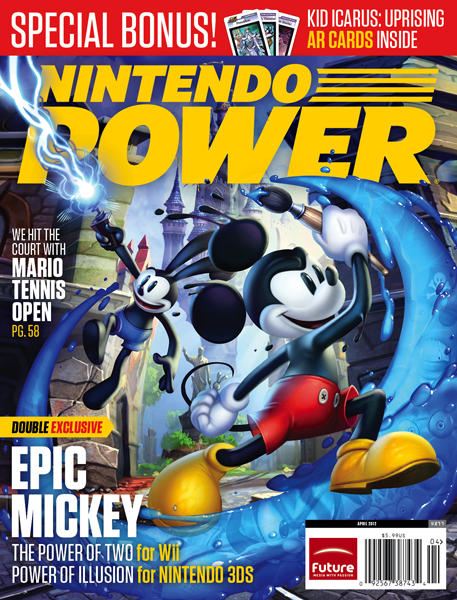 Portada Mickey Nintendo Power